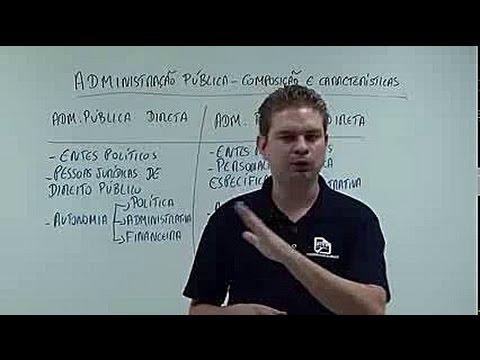Administração Pública Direta e Indireta - Curso de Direito Administrativo