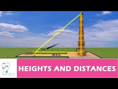 Heights and Distances 10th Maths
