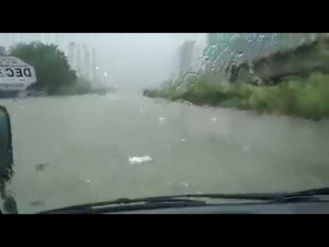 Hydri & to Five Star after heavy rain in Karachi