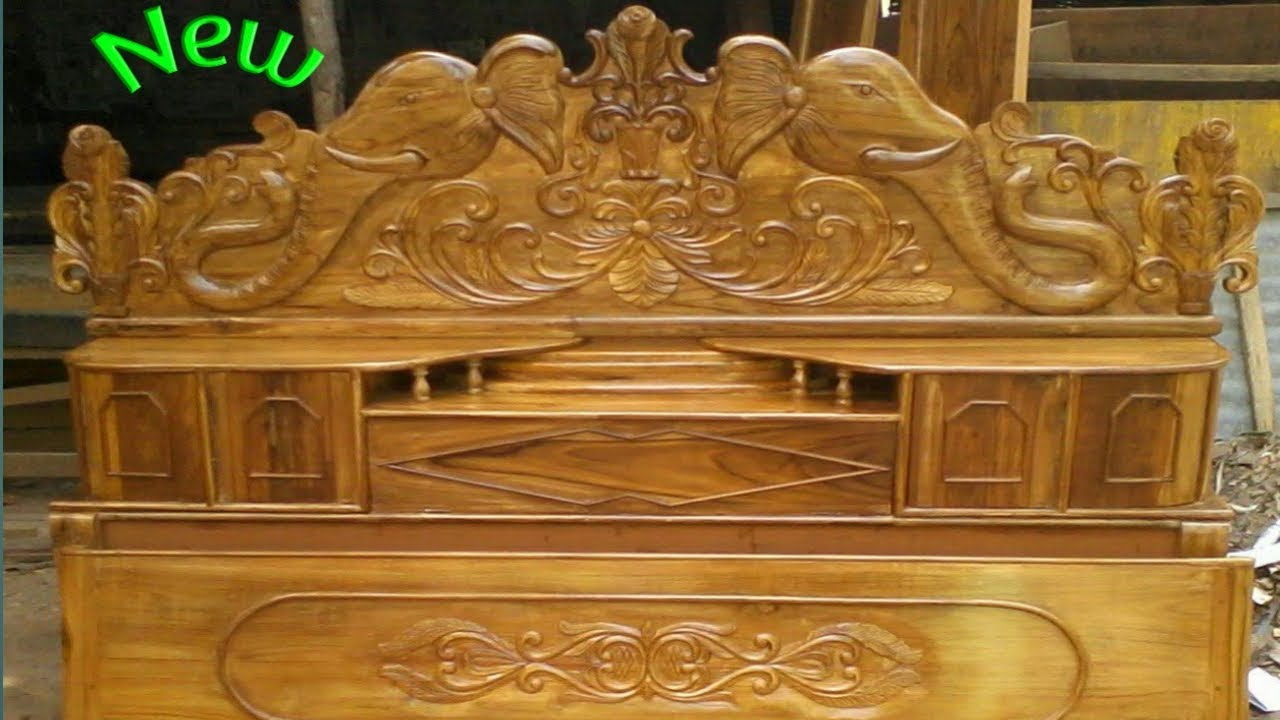 Elephant Design box bed👌👌 all type of wooden work