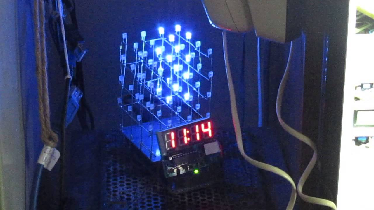 4x4x4 Led Cube From Icstation Revisited Youtube Arduino Charlieplexing Amp Code