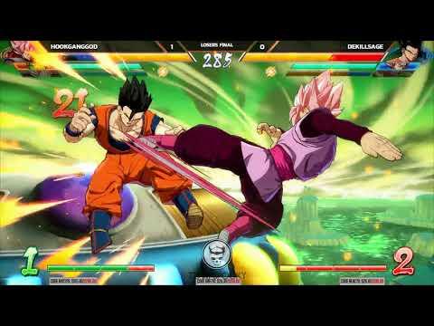 NLBC Super 2 - Dragon Ball FighterZ - Losers Final - HookGangGod vs Dekillsage [1080p/60fps]