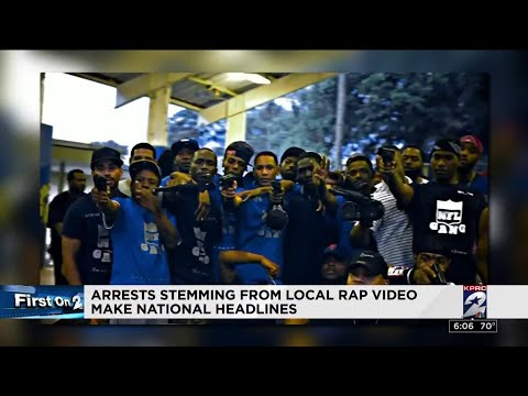 Arrests stemming from local rap video make national headlines