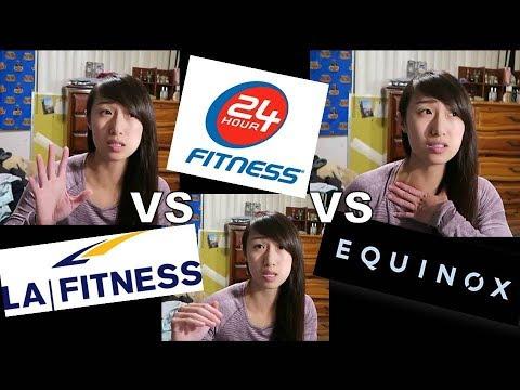 LA Fitness vs 24hr Fitness vs Equinox - Review