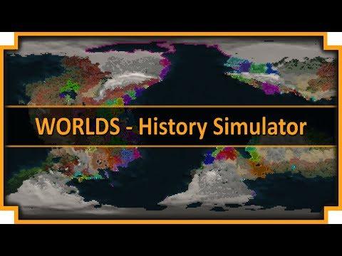 Worlds - History Simulator - (Planet Simulation Game)