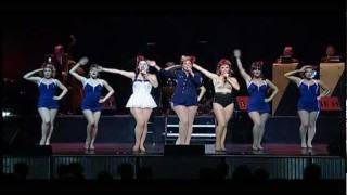 1940s Satin Dollz Pin Up Tap Dancers - Shoo Shoo Baby - Agua Caliente