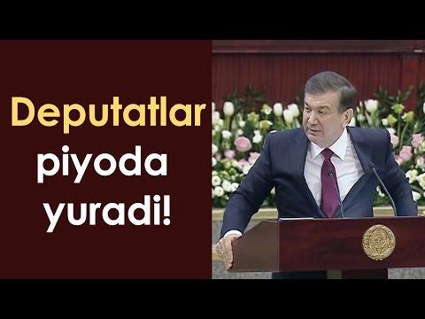 """Mirziyoyev - """"Deputat bo'lib nima qilding!"""""""