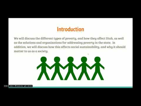 Social Sustainability Group Project: Poverty