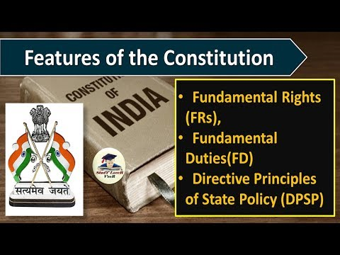 L-8-Features of the Constitution- FRs, DPSP, FD (Part-3)-(Source-Laxmikanth), Indian Polity- By VeeR