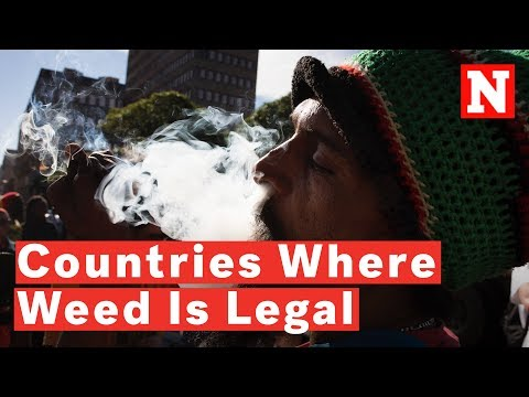 Countries Where You Can Legally Smoke Weed