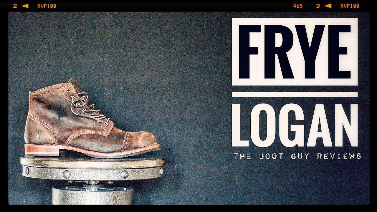FRYE LOGAN CAP TOE   The Boot Guy Reviews   - YouTube 0f1ea4f1be6