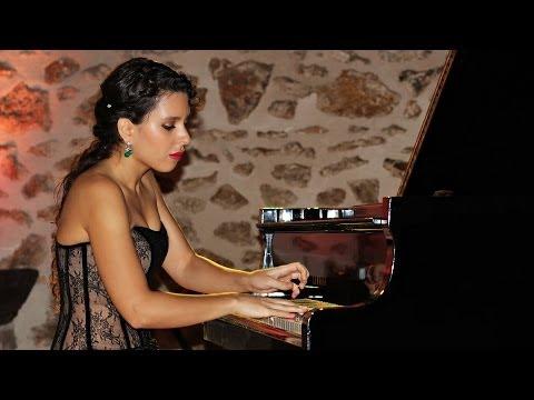 SATIE Gnossienne 1 Piano Solo Live by world-class concert pianist Stephanie ELBAZ