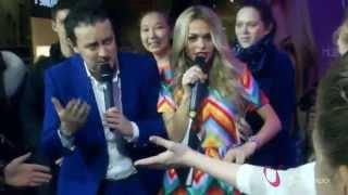 День всех влюблённых в шоппинг: Анна Хилькевич и Стас Ярушин в ТРЦ «Галерея Новосибирск»