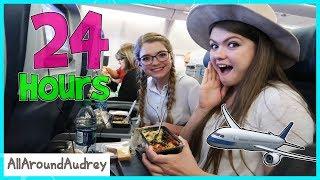 24 Hours On An Airplane / AllAroundAudrey