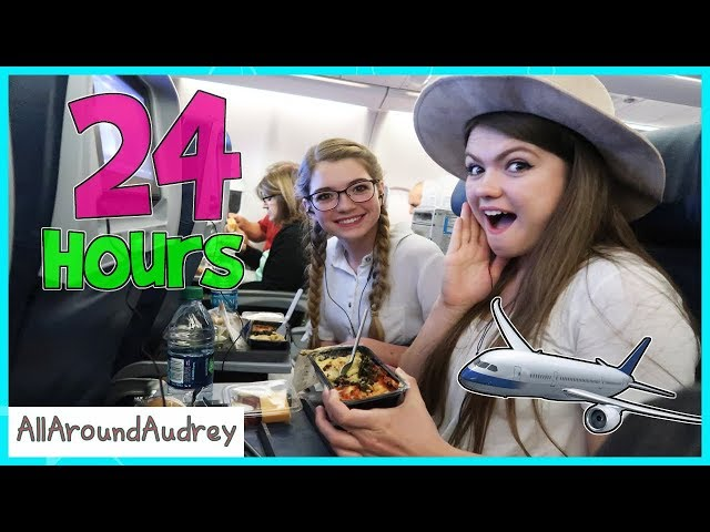 24 Hours On An Airplane / AllAroundAudrey