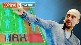 How Pep Guardiola Hacked The Premier League | COPA90 & Top Eleven Tactics