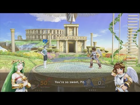 Super Smash Bros. Ultimate - Palutena's Guidance - Wii Fit Trainer (Male) thumbnail