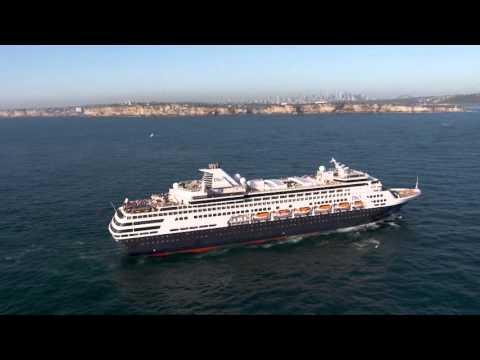 P&O Cruises Makes History on Sydney Harbour  -  MyCruise TV