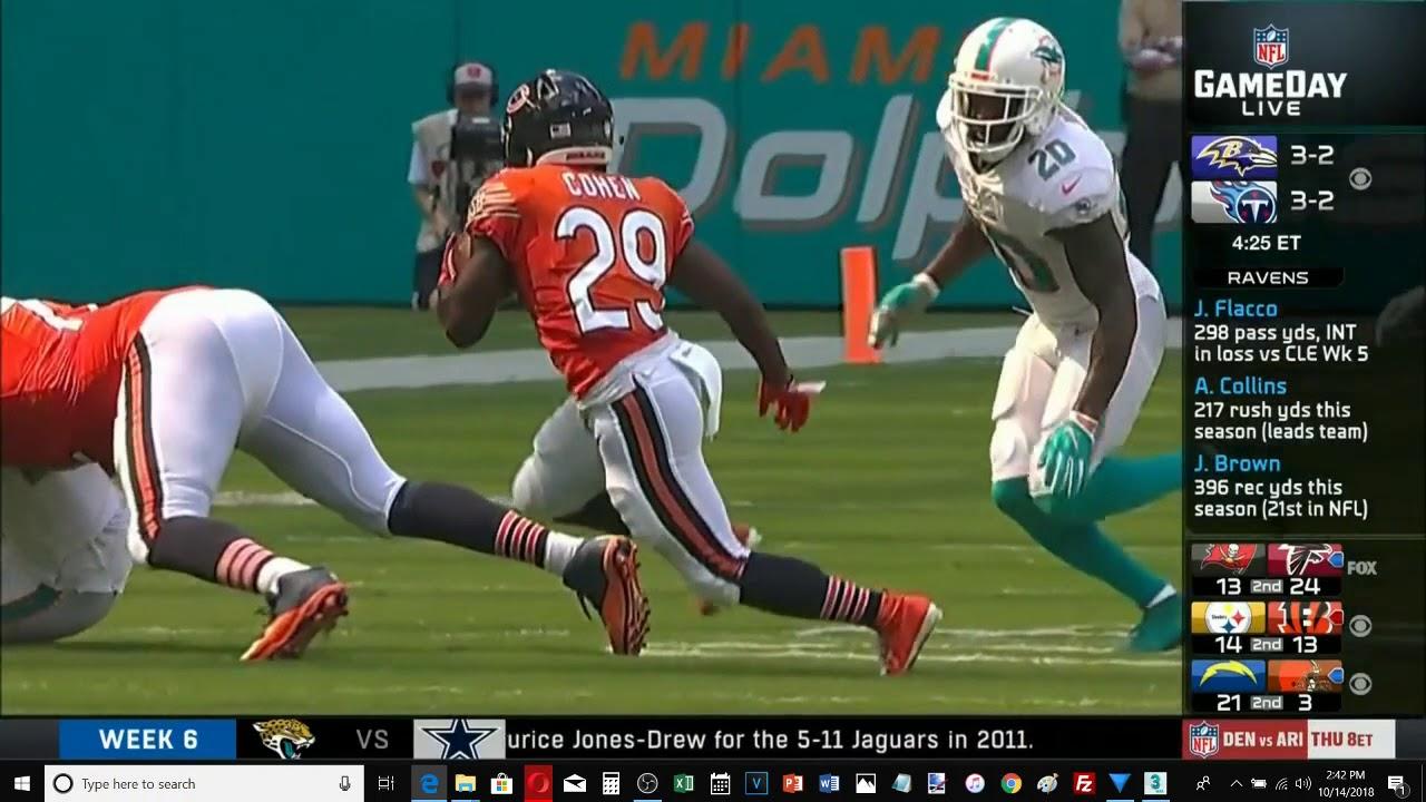 Chicago Bears Trubisky vs Miami Dolphins 1st half highlights - YouTube dbb99c579