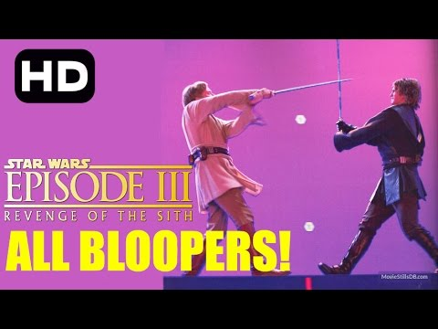 Star Wars Revenge Of The Sith Bloopers COMPLETE COLLECTION!