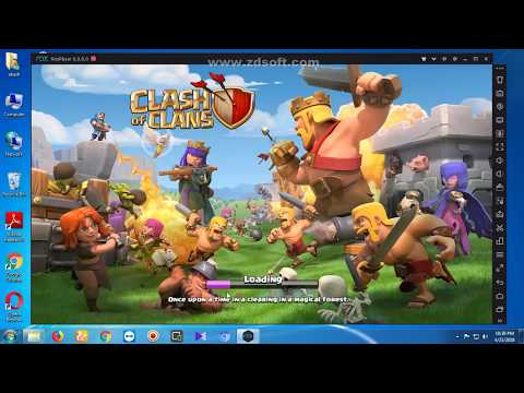 How To Play Clash Of Clans On Your Pc With Best Performance Windows 7/8/10            100%