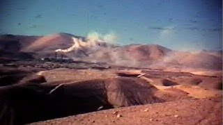 Potrerillos Chile in 1950s 16mm SILENT movie