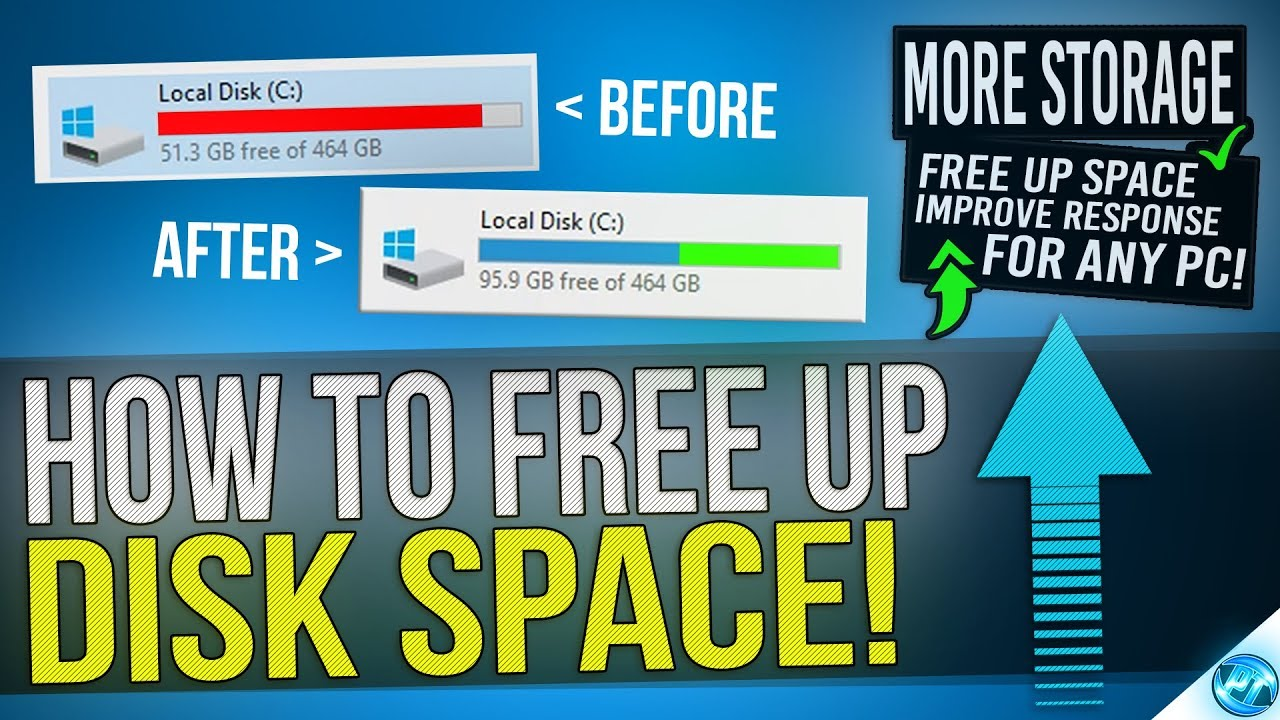 How To Free Up More Than 30gb Of Disk Space In Windows 10 8