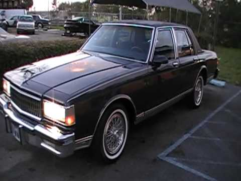 1987 Chevy Caprice Brougham Classic Kar Connection Youtube