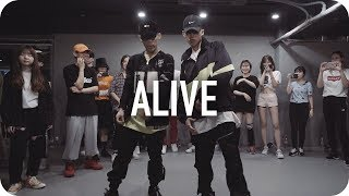 Download Alive - Lil Jon ft. Offset, 2 Chainz / Jinwoo Yoon Choreography Mp3 and Videos