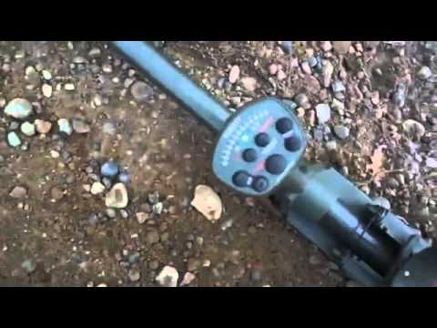 Garrett ATX Test on Buried Gold Nuggets   YouTube