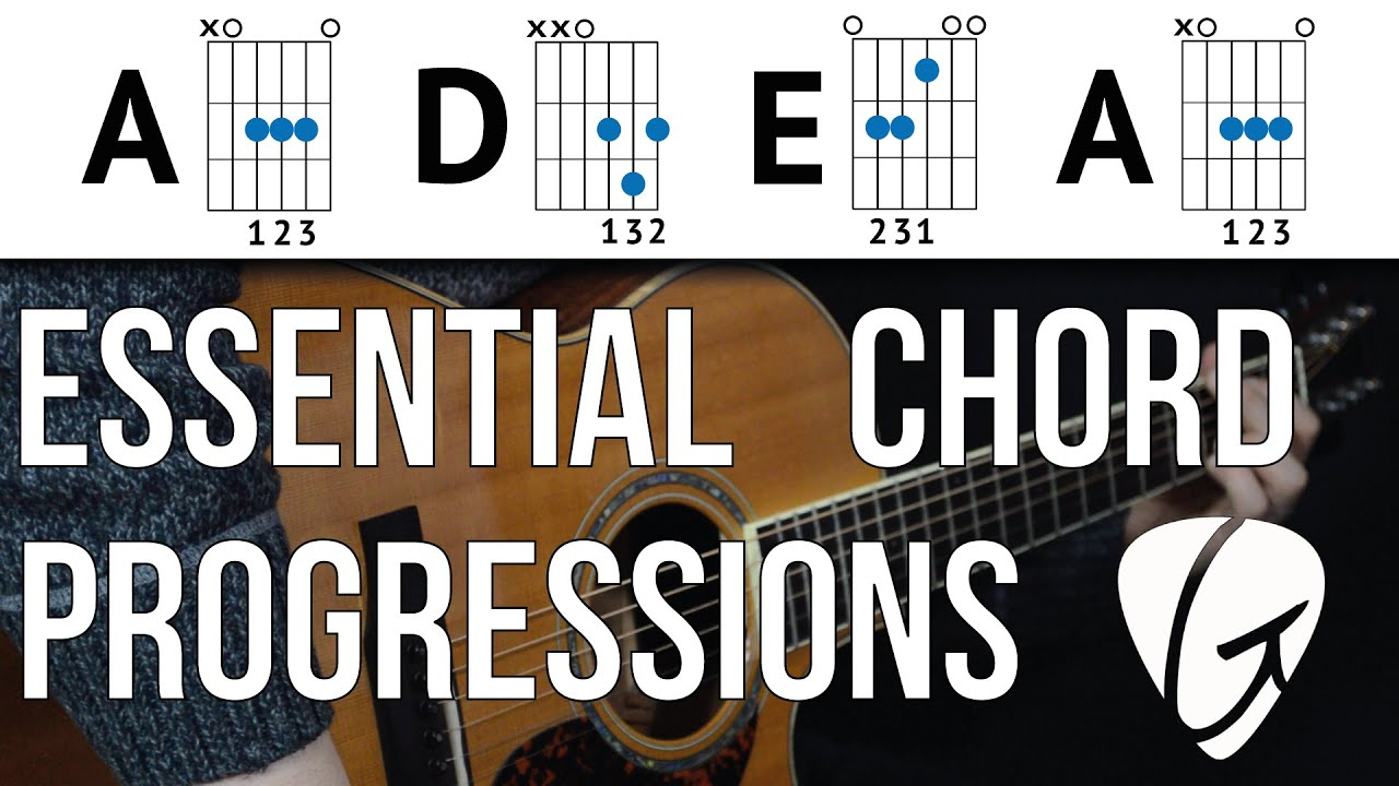 Chord Progression Practice A D E A Play Tons Of Songs With 3