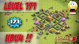 [WTF] Un HDV 4 lvl 171 ! Record Clash of Clans !