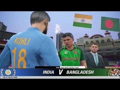 1st T20 India Vs Bangladesh Highlights + Full Match Prediction Cricket 19 Hardest Gameplay