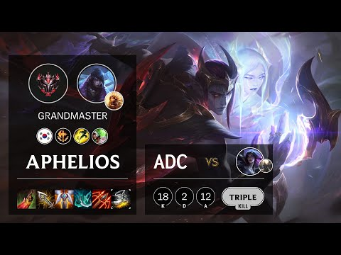 Aphelios ADC vs Kai'Sa - KR Grandmaster Patch 10.19