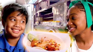 Kids Open Their Own FOOD TRUCKS in Hollywood! | Universal Kids