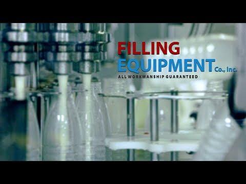 Liquid Filling Equipment - In-Line - Rotary - Piston - Liquid Filling Equipment