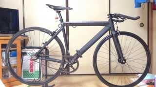 ピストバイク LEADER BIKE 721Matblk S(51cm)紹介