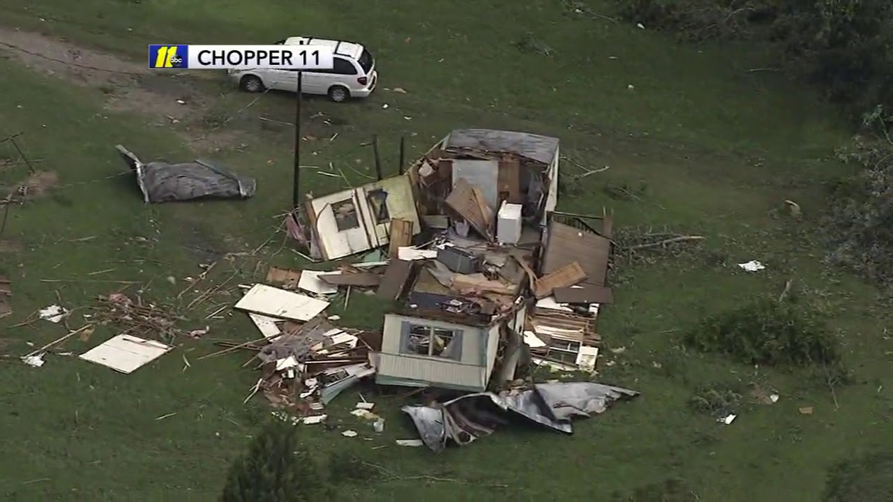 2 people dead after tornado touches down in Bertie County