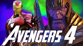 Iron Man Phase 4 + Thanos & the Future in Avengers 4 - Avengers Infinity War