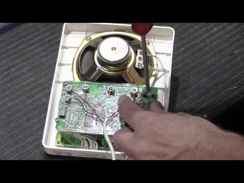 The Fundamentals of Terminating Loop Wiring on a NuTone Loop-Wired Intercom  System - YouTubeYouTube