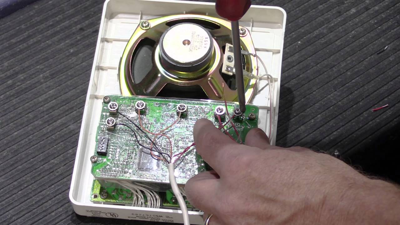 the fundamentals of terminating loop wiring on a nutone loop-wired intercom  system - youtube