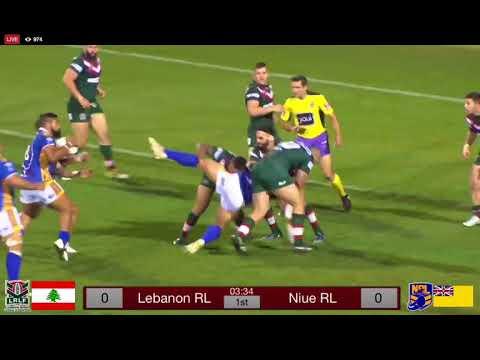Lebanon vs Niue Rugby League 2017
