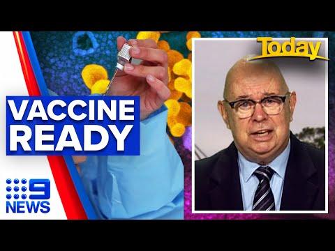 Coronavirus: Australians told to prepare for vaccine jab next Monday   9 News Australia