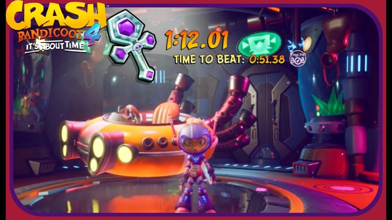 Crash Bandicoot 4: it's About Time: All Platinum Relics - Eggipus Dimension/Bermugula's Orbit