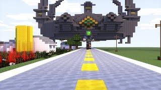 Minecraft Transformers: Optimus prime vs Galvatron Transformers Age of Extinction Animation