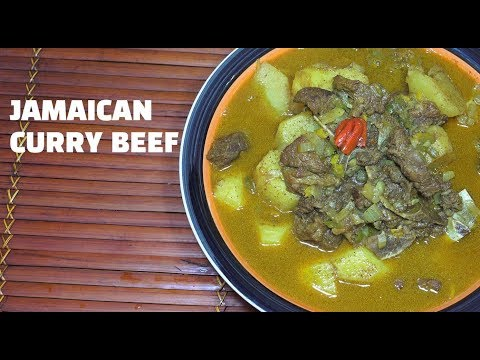 🇯🇲 Jamaican Curry Beef - Beef Potato Curry - How to make Curry Beef