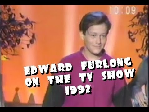 Edward Furlong on the TV show (1992) EXCLUSIVE
