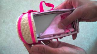 How To Make Doll Baskets And Bassinets