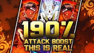 ** THIS IS REAL GOING ABOVE 150% ATTACK BOOST * | ** Naruto Ultimate Ninja Blazing *