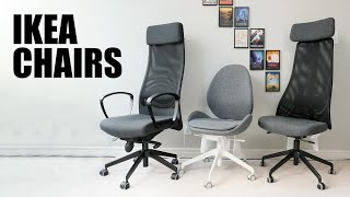 $200 Budget IKEA Office Chairs Comparison - MARKUS, JÄRVFJÄLLET, HATTEFJÄLL